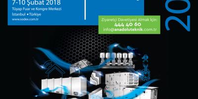 ISK Sodex İstanbul 2018 Fuarındayız